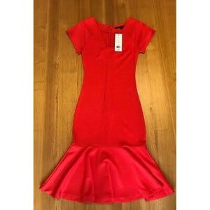 Havana Red Pandora Ponti French Connection Dress S